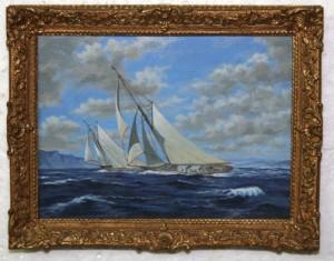 Painting by John Hodgson