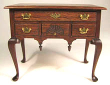 Queen Anne Lowboy by Ed Heeg