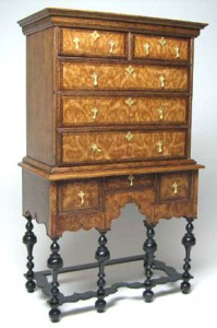William and Mary Highboy by Ed Heeg