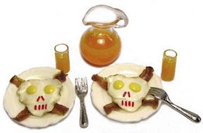 A Halloween breakfast by Kiva Atkinson.