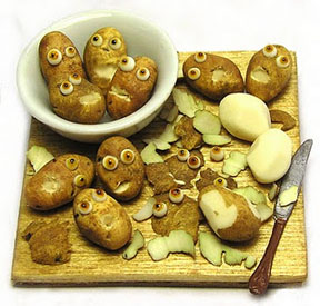 A different take on 'Mr. Potato Head' by Kiva Atkinson.