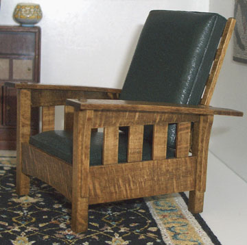 Stickley armchair by Ed Heeg
