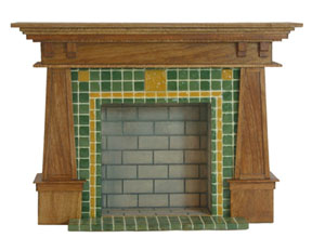 The Arts and Crafts fireplace class project that provide a lesson in woodworking and faux finishing at Guild School 2012.