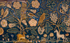 17th Century Cushion Cover/Annelle Ferguson