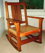 Gustav Stickley rocking chair.