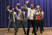 A scene from Motown the Musical, featured selection for the 2013 Guild Show's Broadway Night excursion