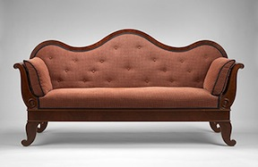 Texas Sofa, The Museum of Fine Arts, Houston; The Bayou Bend Collection, gift of William J. HIll in memory of Peter C. Marzio.
