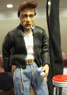 The rebel without a cause, James Dean in 1/12 scale by Sherri Colvin.