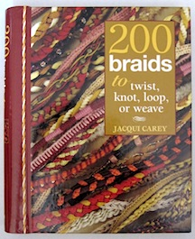 A marvelous handbook on braiding, looping, twisting and weaving cord trims.