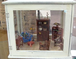 A 1/12 scale setting on display at the Hartsville Memorial Library in Hartsville, SC.