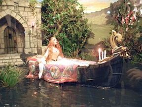 The Lady of Shalott in 1/12 scale as interpreted by IGMA Artisan member Deb Mackie.