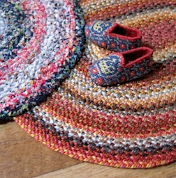 Patricia Richards will demonstrate how to braid a rag rug in 1/12 scale.