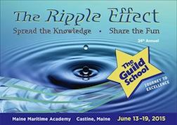 Guild School 2015 theme, The Ripple Effect.