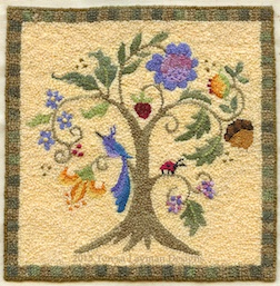 A Fellow member of IGMA, Teresa Layman will be a dealer at the Guild Show selling finished rugs as well as kits to make your own.
