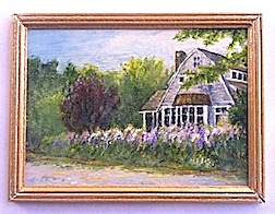 Lupine House, Castine, Maine by IGMA Fellow member Sue Veeder.