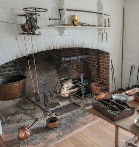 Tools for the Colonial hearth is the subject of Alan Hamer's Williamsburg class.